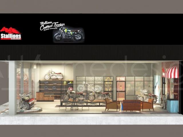 รับออกแบบร้านค้า, การรับผลิตร้านค้า และการรับติดตั้งร้านค้า